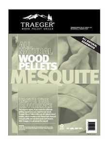 Traeger PEL305 Mesquite Pellets 20-Lb