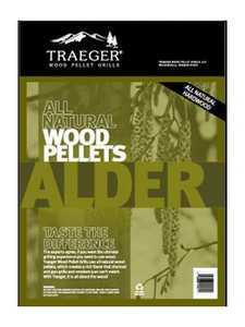 Traeger PEL307 Alder Pellets 20-Lb