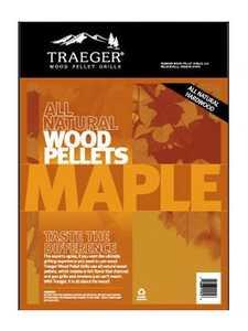 Traeger PEL308 Maple Pellets 20-Lb