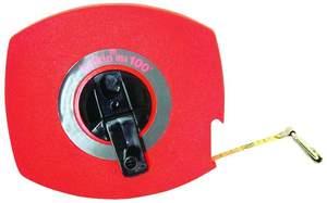 Lufkin 100L 3/8 In X 100 Ft Hi-Viz Orange Universal Lightweight Long Steel Tape Lufkin