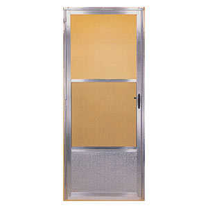 Croft 161-36X80 Storm Door Ss Combination Mill Finish