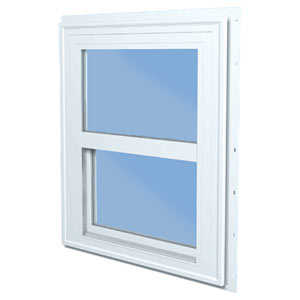 Croft 20W-2840 Vinyl Single Hung Window White Low-E 2/8 x 4/0