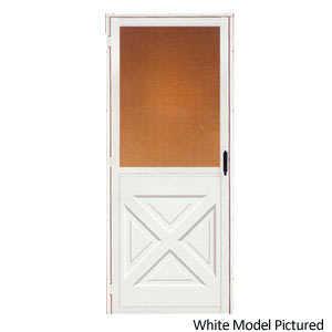 Croft 461-32X80 Storm Door Crossbuck White