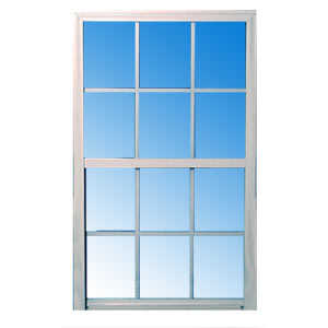 Croft 50W-2038 Vinyl Single Hung Window D/L White Low-E 2/0 x 3/8