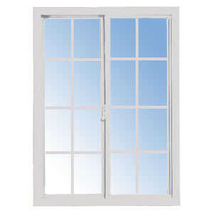 Croft 51W-3040 Vinyl Slider Window D/L White 3/0 x 4/0