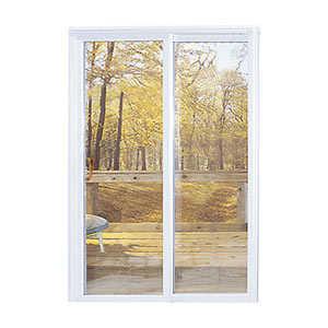 Croft 60PD-6/0 x 6/8 Vinyl White Vinyl Patio Door