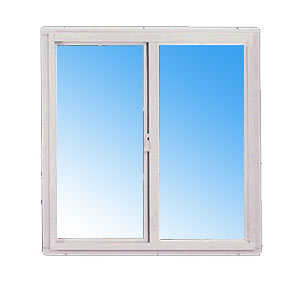 Croft 70-3/0 x 2/0 Sliding Window Standard Glass Mill Finish Obscure 3/0 x 2/0