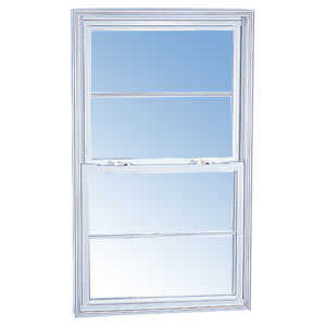 Croft 90-2050 Single Hung Window Mill Finish 2/0 x 5/0
