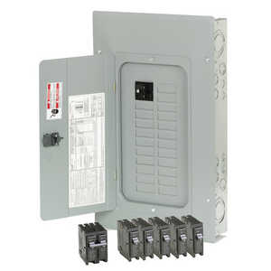 Eaton Cutler Hammer BR2020B100V Main Breaker Load 20 Space Indoor 100a