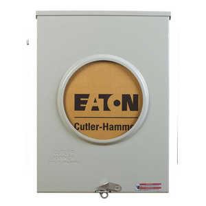 Eaton Cutler Hammer UTRS213BE Meter Socket 200a Ringless Oh/Ug