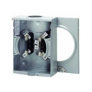 Eaton Cutler Hammer UTRS101BE Meter Socket 125a Ringless Oh/Ug