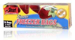CSI Products Inc CS5500QR Freezer Bags Zipper Qt 16ct