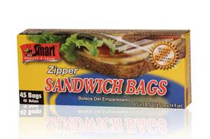 CSI Products Inc CS5500SR Sandwich Zipper Bags 45ct