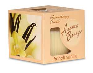 CSI Products CS5504FV 3.5-Ounce French Vanilla Aroma Breeze Aromatherapy Candle