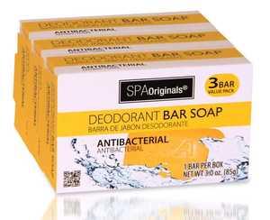 CSI Products Inc CS5704GLD Antibacterial Bar Soap 3Pk