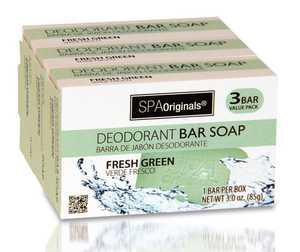 CSI Products Inc CS5704GRN Deodorant Bar Soap 3Pk