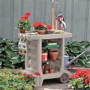 Suncast GC1500B Garden Center Cart 24x33