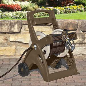 Suncast LGN205M Slide Trak Hosemobile Pro Hose Cart