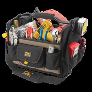 Custom Leathercraft 1578 14-Inch Open Top Soft Sided Tool Box