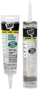 Dap 18384 Flexible Sealant 10.1 fl. oz. Clear