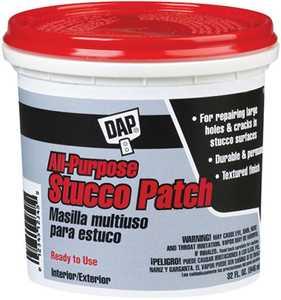 Dap 10504 All Purpose Stucco Patch Quart White
