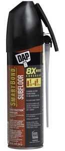 Dap 00036 SmartBond Construction Subfloor Adhesive Tan 20 oz Straw Grade
