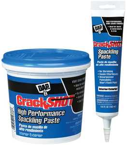 Dap 12374 Crackshot Spackle 1/2 Pt