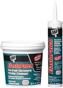Dap 12290 Elastopatch Textured Patching Compound Gallon Off White