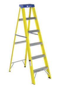 Louisville Ladder FS2006 6-Foot Type 1 Fiberglass Step Ladder