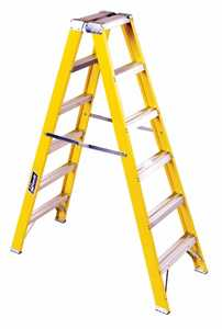 Louisville Ladder FM2006 Ladder Twin Type I Fiberglass 6 ft