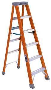 Louisville Ladder FS1506 6 ft Type IA Fiberglass Step Ladder, 300 Lb Rated