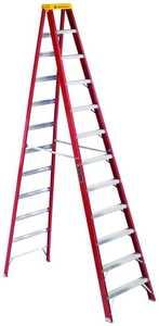 Louisville Ladder L-3016-12 12 ft Type IA Fiberglass Step Ladder, 300 Lb Rated