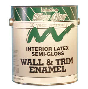 Davis Paint .43312 Silver Glow Interior Paint Latex Semi-Gloss Pastel Base Gallon