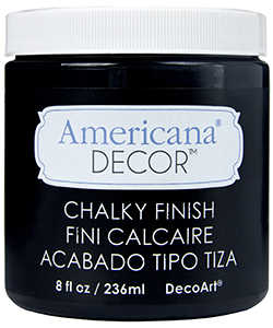 DECOART, INC ADC29-36 Paint Chalky 8 oz Carbon