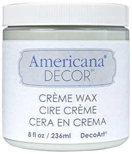 DECOART, INC ADM01-36 Wax Creme 8 oz Clear