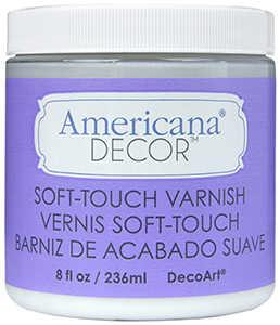DECOART, INC ADM03-36 Varnish Soft Touch 8 oz Clear