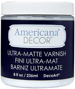 DECOART, INC ADM04-36 Varnish 8 oz Ultra Matte