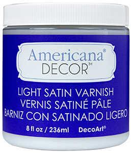 DECOART, INC ADM05-36 Varnish 8 oz Light Satin