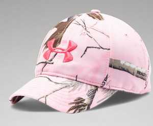 Under Armour 1238981-936-OSF Ladies' Realtree AP Pink Camo Cap