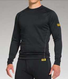 Under Armour 1239727-001-MD Medium Ua Base 3.0 Ski And Snowboard Long Sleeve Shirt
