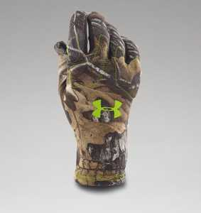 Under Armour 1259228-946-XL X-Large Realtree Xtra Polyester Scent Control Gloves