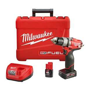 Milwaukee 2403-22 M12 Fuel 1/2 in Drill/Driver Kit