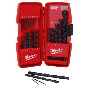 Milwaukee 48-89-2801 21 Piece Thunderbolt Black Oxide Drill Bit Set