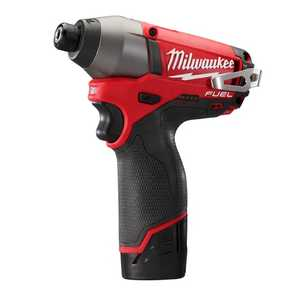 Milwaukee 2453-22 M12 Fuel 1/4 in Hex Impact Driver Kit
