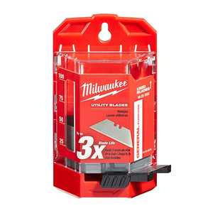 Milwaukee 48-22-1950 50 Pack General Purpose Utility Blades With Dispenser