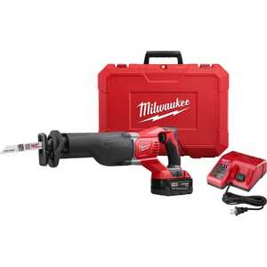 Milwaukee 2621-21 M18 Sawzall Reciprocating Saw Kit