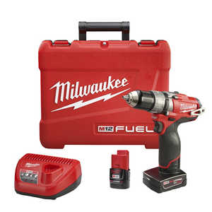 Milwaukee 2404-22 M12 Fuel 1/2 in Hammer Drill/Driver Kit