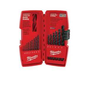 Milwaukee 48-89-2803 15pc Thunderbolt Black Oxide Drill Bit Set