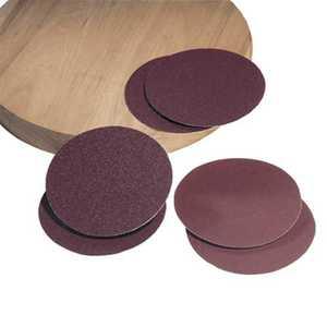 DELTA POWER EQUIP CORP 31-347 80g Aluminum Oxide Sanding Stick-On-Discs 8 In 2 Pc.