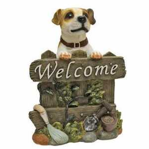 Design Toscano QL57607 Jack Russell Terrier Dog Welcome Statue